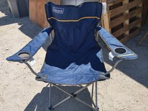 Coleman camping chair in 29 Palms, California