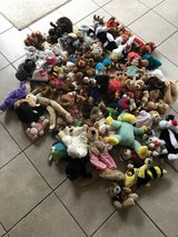 Large Bag of over 100 Stuffed Animals in Ramstein, Germany