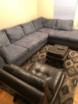 Sectional w/Scotch Guard Protective Package in St. Charles, Illinois