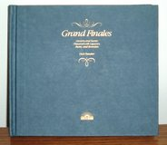 Vintage 1982 Grand Finales Hardcover Desserts Flavored w Liqueurs Rum Brandies Cook Book in Yorkville, Illinois