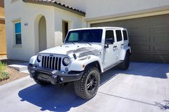 2017 Jeep Wrangler Unlimited ***Winter Edition*** Fully Loaded less than 12.5K miles $$Price Red... in Nellis AFB, Nevada