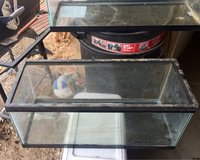 (2) 20 gal tanks for trade in Yucca Valley, California
