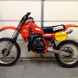 1982 Honda CR250R in Fort Leonard Wood, Missouri