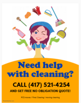 NEED HELP WITH CLEANING YOUR HOUSE/APARTMENTS in Fort Leonard Wood, Missouri