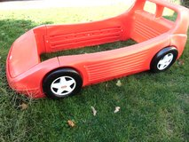 How about a COOL Bed! Little Tikes Twin Red Race Car Bed - Made in the USA in Sandwich, Illinois