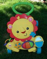10-J Fisher Price Baby Walker with Educational Activities in Alamogordo, New Mexico