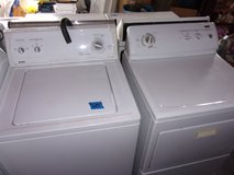 Kenmore Washer and Dryer Set in Fort Riley, Kansas