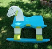25-Y  Childs Homemade Cute Wooden Rocking Horse. in Alamogordo, New Mexico