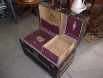 Steamer Trunk With Inserts in Fort Riley, Kansas