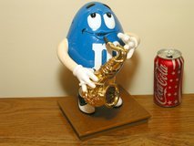 M&M's Blues Cafe Saxophone Player Candy Dispenser in Westmont, Illinois
