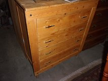 Four Drawer Pine Chest of Drawers in Fort Riley, Kansas