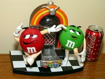 M&M's Rock'n Roll Cafe Candy Dispenser in Westmont, Illinois