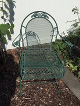 Wrought Iron Garden Chair in Naperville, Illinois