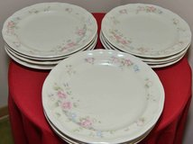 Pfaltzgraff Tea Rose 72 pcs for 12 includes Rimmed Soup Bowls in Westmont, Illinois