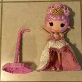 Lalaloopsy Collector Holiday Goldie Luxe Full Size Doll w/Stand Nice! in Travis AFB, California
