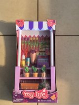 "18"" Doll Flower Stand w/Accessories New in Box in Travis AFB, California"