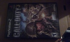 Call of Duty 3- PS2 in Alamogordo, New Mexico