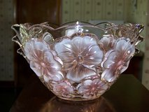 Vintage Beautiful Crystal Glass Bowl in New Lenox, Illinois