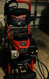 Pressure washer, new, it has never been used, gas, Briggs and Stratton, max 2800 psi in Tomball, Texas