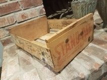 Old crate in Fort Polk, Louisiana