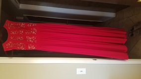 Beautiful Red Ball Gown in Camp Pendleton, California