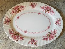 Oval platter made in England in Bolingbrook, Illinois