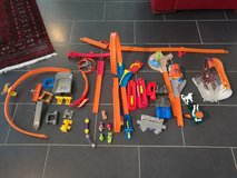 Hot wheels track and cars set in Ramstein, Germany
