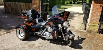 Harley Davidson Trike in Lakenheath, UK