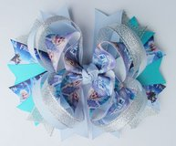 "Large Boutique Stacked ""Frozen"" Hair Bows in Kingwood, Texas"