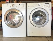 LG front load washer and dryer in Sugar Grove, Illinois