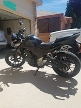 2014 cb500f in Kirtland AFB, New Mexico