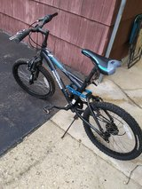 "Used 20"" Mongoose Ledge 2.1 Boys' Mountain Bike, Black & Blue in Chicago, Illinois"