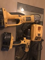 18V drill/driver/grinder combo kit in Cleveland, Texas