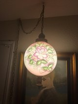 Antique Hanging Lamp with gold  chain in Travis AFB, California