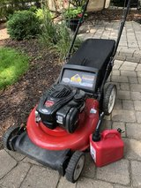 Lawn Mower w Bag. works great !!! in Westmont, Illinois