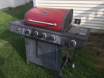 Backyard Grill 4-Burner Gas Grill with Side Burner + Propane Tank in Westmont, Illinois