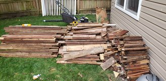 Wood from deck in Naperville, Illinois