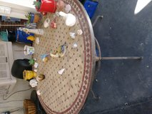 Patio round table in Riverside, California
