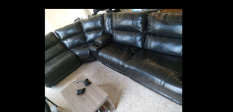 5 Person Ashley Furniture Couch in Hampton, Virginia