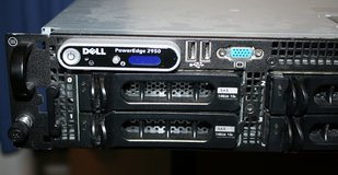 Dell 2950 PowerEgde server computer 2x Xeon Quad Core X5460 3.16GHz CPU's 32 GB  memory in Glendale Heights, Illinois