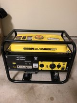 Generator, Champion 4000W 120 & 240 Volt in Lackland AFB, Texas