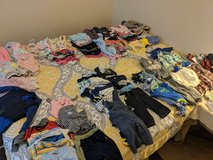 Lots of baby girl and boy clothing in 29 Palms, California