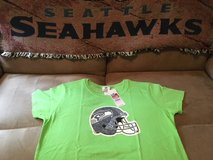SEATTLE SEAHAWKS - NFL Team Apparel Women's T-Shirt (Neon Large) *** NEW *** in Fort Lewis, Washington