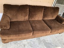 Brown Couch in Fort Riley, Kansas