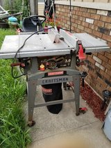 craftsman table saw in Plainfield, Illinois