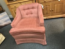 Pink side chair in Chicago, Illinois