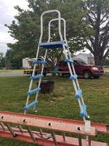 Pool ladder in Fort Campbell, Kentucky