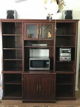 Entertainment Center with Bookshelves in Fort Rucker, Alabama