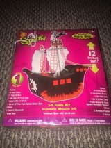 New!  Halloween Haunted Pirate Ship Craft 3D Foam Kit (2 available) in Bolingbrook, Illinois