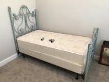 Twin Bed Frame, Matress, & Boxspring in Arlington, Texas